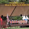 Indian Peace Treaty and Pow Wow Dancers :